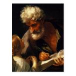 Guido Reni- Saint Matthew Postcard