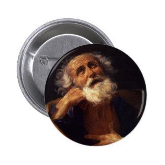 Guido Reni- Saint Peter Pinback Button