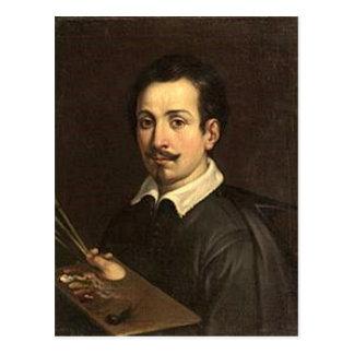 Guido Reni - Selfportrait Tarjetas Postales