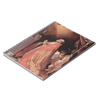 Guido Reni- St Andrew Corsini en rezo Libro De Apuntes Con Espiral