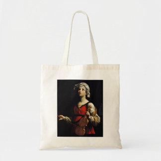 Guido Reni- St Cecilia Canvas Bags