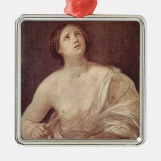 Guido Reni- Suicide of Lucretia Christmas Tree Ornaments