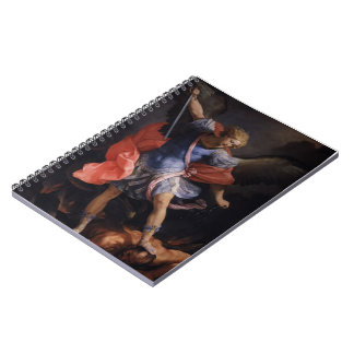 Guido Reni- The Archangel Michael defeating Satan Note Books