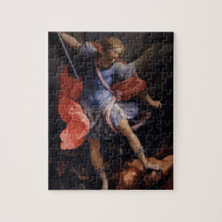 Guido Reni- The Archangel Michael defeating Satan Puzzles