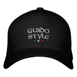 """""""Guido Style"""" embroidered cap"""