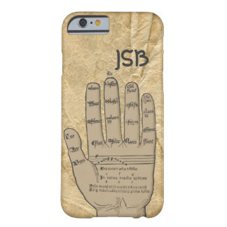 Guidonian Hand, Medieval Music Theory Customizable Barely There iPhone 6 Case