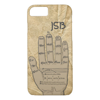 Guidonian Hand, Medieval Music Theory Customizable iPhone 8/7 Case