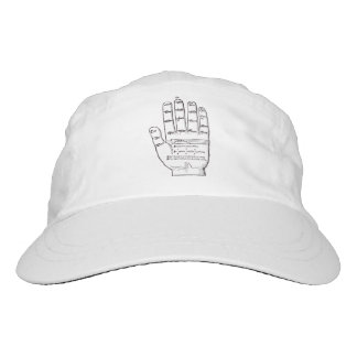 Guidonian Hand, Medieval Music Theory Headsweats Hat