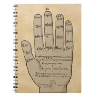 Guidonian Hand, Medieval Music Theory Note Book
