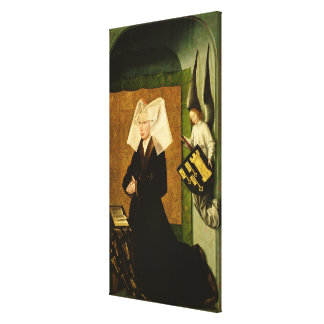 Guigone de Salins, wife of the donor Gallery Wrap Canvas