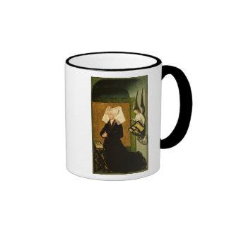 Guigone de Salins, wife of the donor Ringer Coffee Mug