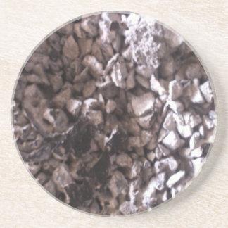 Guijarro y práctico de costa de la bebida de la ro posavasos diseño