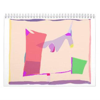 Guijarros 2 calendarios de pared