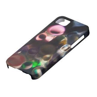 Guijarros coloridos artísticos - foto del arte abs iPhone 5 carcasas