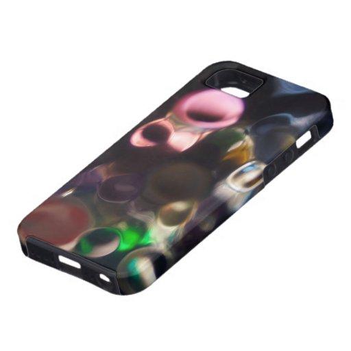 Guijarros coloridos artísticos - foto del arte abs iPhone 5 funda