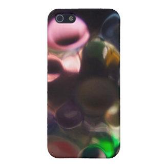 Guijarros coloridos artísticos - foto del arte abs iPhone 5 fundas