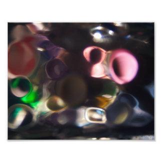 Guijarros coloridos artísticos - foto del arte abs