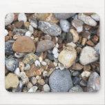 Guijarros de la playa tapetes de raton