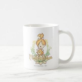 Guijarros en las zonas tropicales taza de café