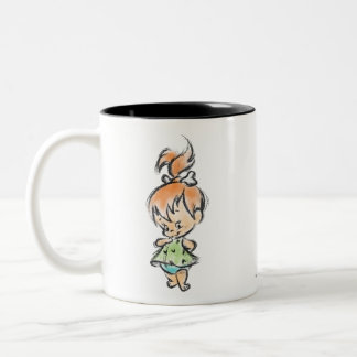 Guijarros - mano hecha taza de café