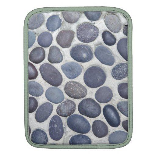 guijarros redondos mangas de iPad