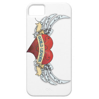 GUILD LEADER Tattoo - Heart and Wings iPhone 5 Cover
