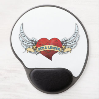 GUILD LEADER Tattoo - Heart and Wings Gel Mouse Pads