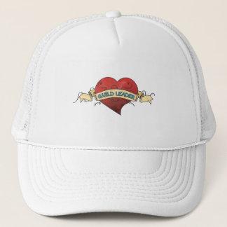 GUILD LEADER Tattoo - Heart Trucker Hat