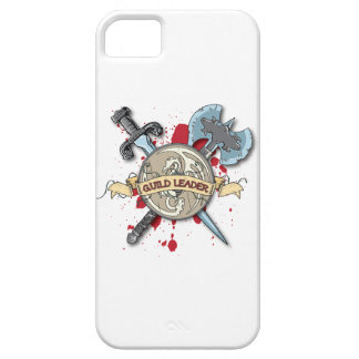 GUILD LEADER Tattoo - Sword, Axe, and Shield iPhone 5 Covers