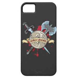 GUILD LEADER Tattoo - Sword, Axe, and Shield iPhone 5 Cover