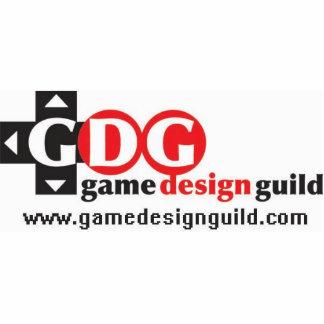 Guild logo standee small statuette