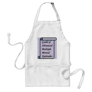Guild of Advanced Multiple Mental Aptitudes store Adult Apron