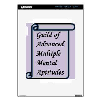 Guild of Advanced Multiple Mental Aptitudes store iPad 3 Decals