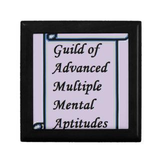 Guild of Advanced Multiple Mental Aptitudes store Jewelry Box