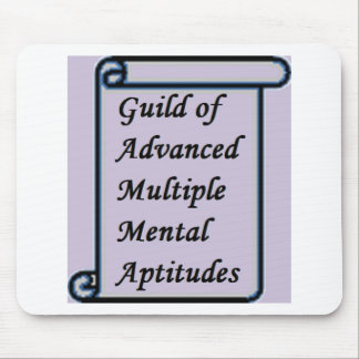 Guild of Advanced Multiple Mental Aptitudes store Mouse Pad