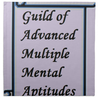 Guild of Advanced Multiple Mental Aptitudes store Napkin