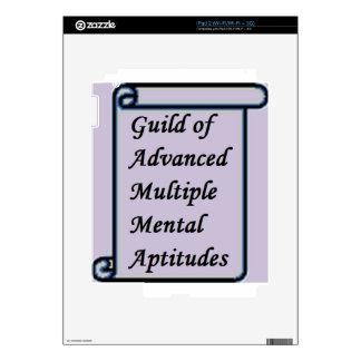 Guild of Advanced Multiple Mental Aptitudes store Skin For iPad 2