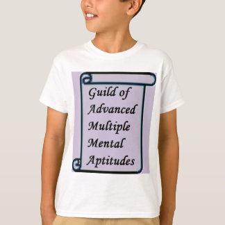 Guild of Advanced Multiple Mental Aptitudes store T-Shirt