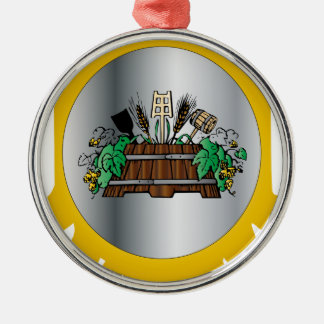 Guild of Brewers Metal Ornament