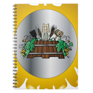 Guild of Brewers Spiral Note Book