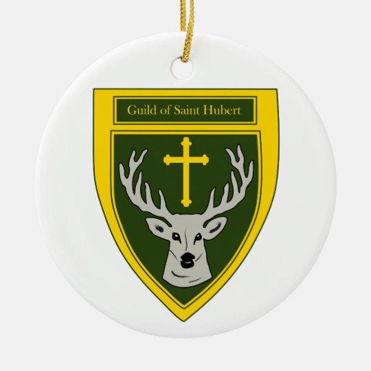 Guild of Saint Hubert Christmas Ornament