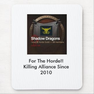 guild, tabardlogo, For The Horde!!Killing Allia... Mouse Pad