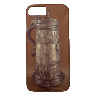 Guild tankard, silvered pewter, 1564 iPhone 8/7 case