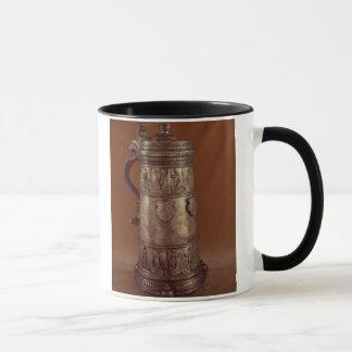 Guild tankard, silvered pewter, 1564 mug