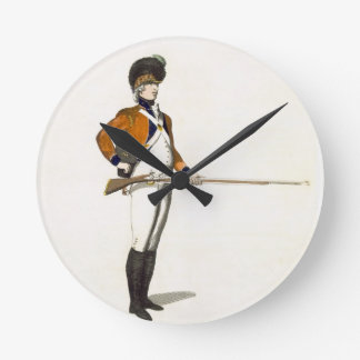 Guildhall Light Infantry Volunteer, plate 33 from Round Clock