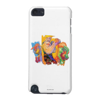 Guile, Blanka & Dhalsim 2 iPod Touch (5th Generation) Cover