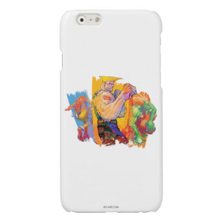Guile, Blanka & Dhalsim 2 Glossy iPhone 6 Case