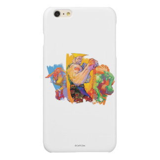 Guile, Blanka & Dhalsim 2 Glossy iPhone 6 Plus Case