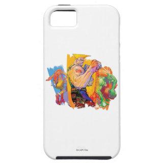 Guile, Blanka & Dhalsim 2 iPhone SE/5/5s Case