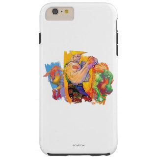 Guile, Blanka & Dhalsim 2 Tough iPhone 6 Plus Case